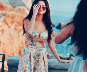 beautiful, cute girl, and gomez image