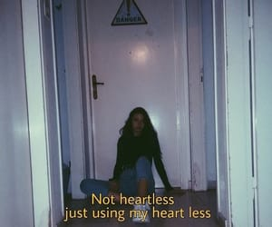 heartless, quotes, and words image