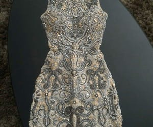glamour, strass, and vestido image