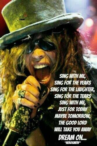 aerosmith, steven tyler, and dream on image