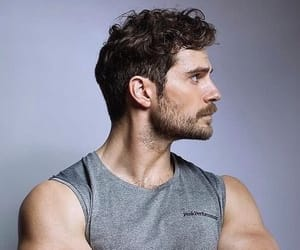 Henry Cavill, handsome, and superman image