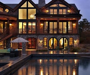 Arhitecture, mansion, and pool image
