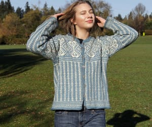 etsy, vintage sweater, and wool sweater image