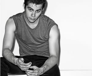 black and white, dylan o'brien, and photogenic image