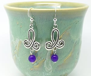 etsy, purplesilver, and purple silver image