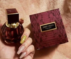 nails, jimmychoo, and glitternails image