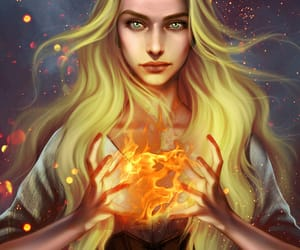 fireheart, throne of glass, and aelin galathynius image