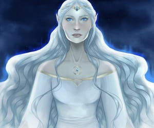 throne of glass, queen elena, and sarah j maas image
