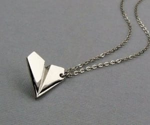 necklace, silver, and one direction image
