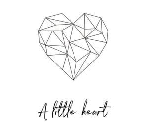 heart, herz, and little image