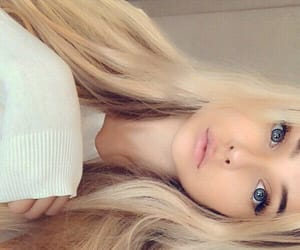 beautiful, blonde, and russian image