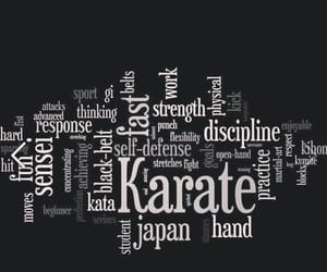 discipline, karate, and martial arts image