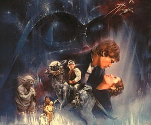 classic, darth vader, and Princess Leia image