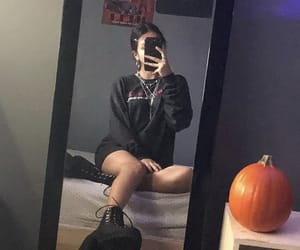 edgy, grunge, and outfit image