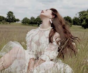 girl and grass image