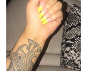 girly, nails, and manicure image