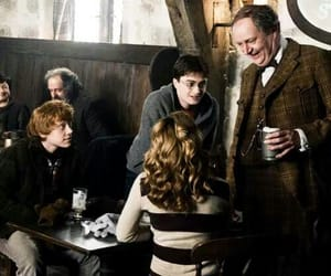 dumbledore, george, and ginny image