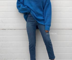 girl, blue, and clothes image