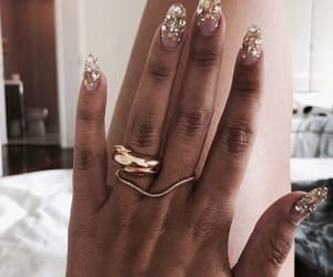 nails, glitter, and accessories image