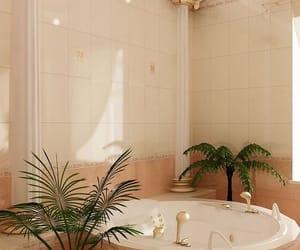 bath, luxury, and plants image