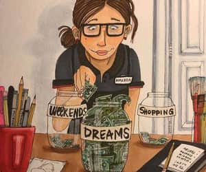 Dream and money image
