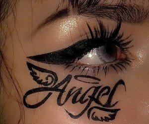 angel, makeup, and aesthetic image