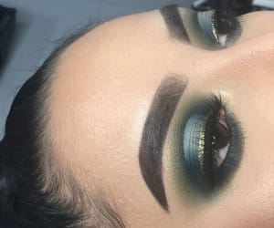 eyebrows, eyes, and girly image