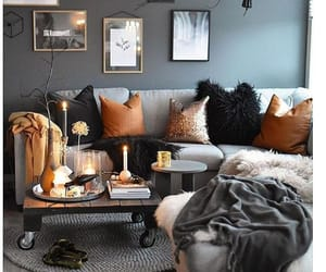home, candle, and decor image