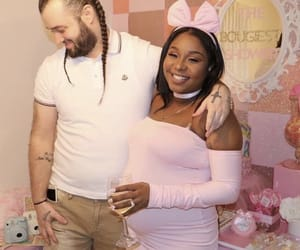 aesthetic, african american, and baby shower image