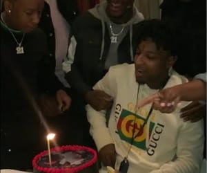 happy birthday, video, and 21 savage image
