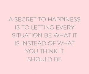 acceptance, happiness, and quote image