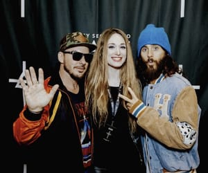 30 seconds to mars, echelon, and jared leto image