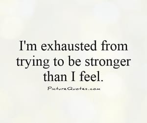 exhausted and quotes image
