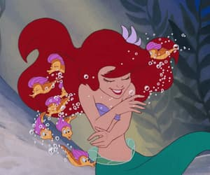 animation, disney, and the little mermaid image