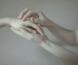 hand, skin, and pale image