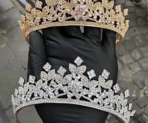 crown and wedding image