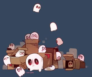 ghost, napstablook, and undertale image
