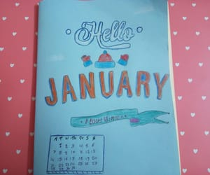jan, bullet journal, and hello january image