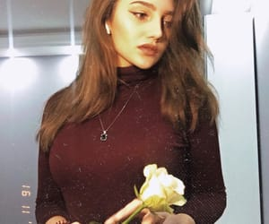 beauty, flower, and russian Girl image