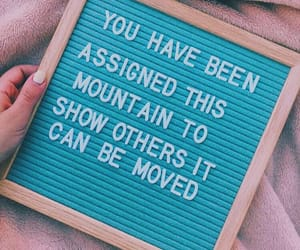 quote, pink, and teal image