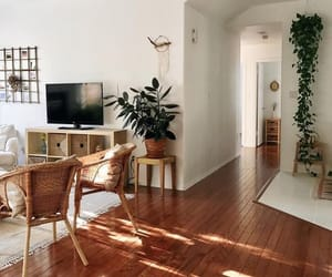 home, living room, and natural image
