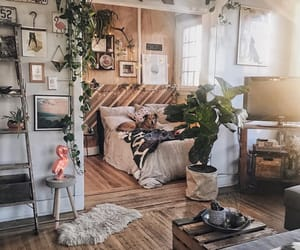 bedroom, home, and natural image