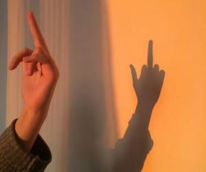 aesthetic, grunge, and shadow image