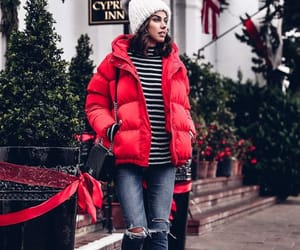 puffer jackets and winter clothes image