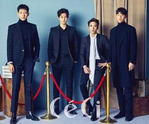 band, boys, and korean image