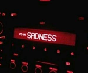 red, sadness, and sad image