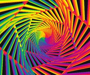 acid, gif, and psychedelic image