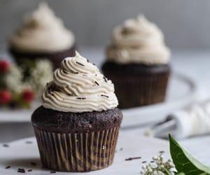 chocolate cupcakes with espresso buttercream!