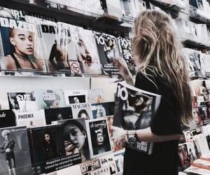 magazine and reading image