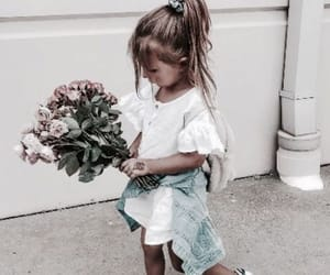 cutie, flowers, and style image